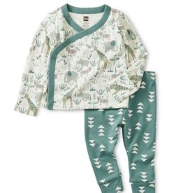 Tea Collection Safari Wrap Outfit 3/6M