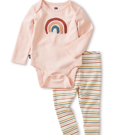 Tea Collection Rainbow Outfit 6/9M
