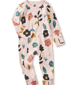 Tea Collection Blooms Romper 0/3M
