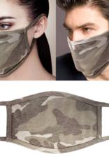 Adult Face Mask Camo