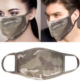 Adult Face Mask Camo