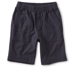 Tea Collection Playwear Shorts Indigo 12/18, 18/24M
