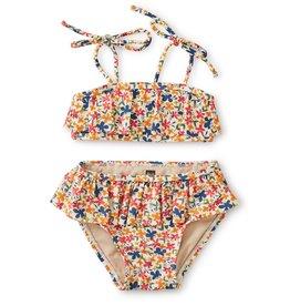 Tea Collection Ruffle Bikini Floral 12/18M