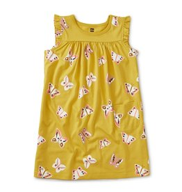 Tea Collection Mini Dress Butterfly 5-7