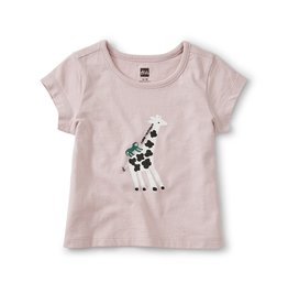 Tea Collection Giraffe and Baboon Tee 12/18, 18/24M