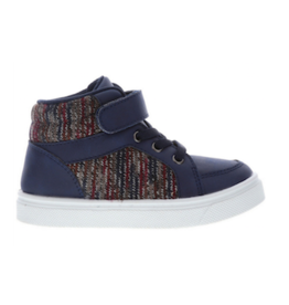 Oomphies Sid Navy Shoes 10-12