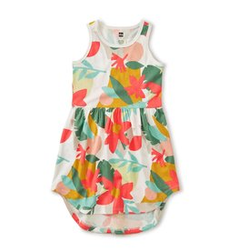 Tea Collection Skirted Tank Dress Oasis Floral 5