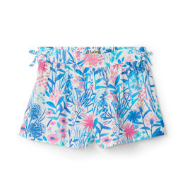 Hatley Gathered Shorts Spring Wildflowers 5, 6