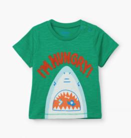 Hatley Hungry Shark Graphic Tee 9/12M