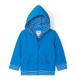 Hatley Hoodie Tropical Blue 2-4