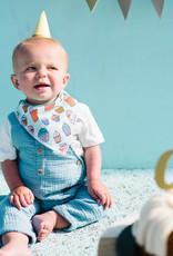 Copper Pearl Baby Bandana Bibs 2 Pack Confetti