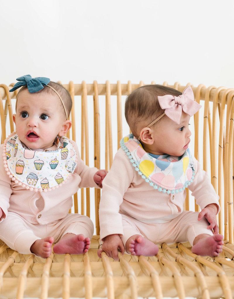 Copper Pearl Baby Bandana Bibs 2 Pack Celebration
