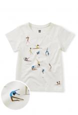 Tea Collection Gymnastics Gems Tee