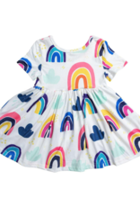 Mila & Rose S/S Rainy Day Twirl Dress
