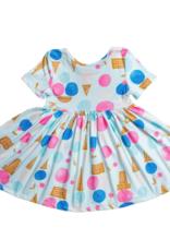 Mila & Rose S/S We All Scream Twirl Dress