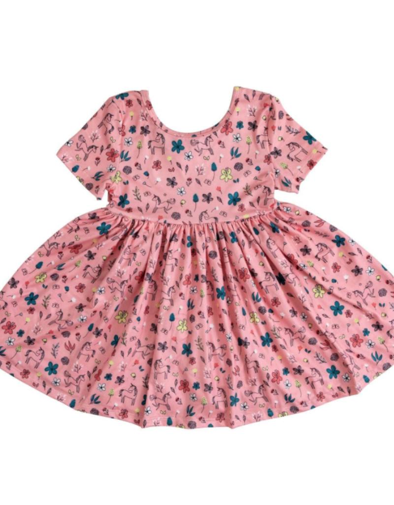 Mila & Rose S/S Pink Fairytale Twirl Dress