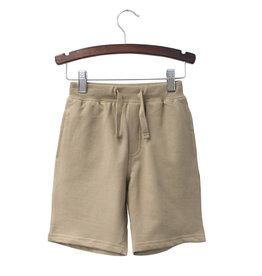 Globaltex Kids Terry Shorts Khaki 12M-24M