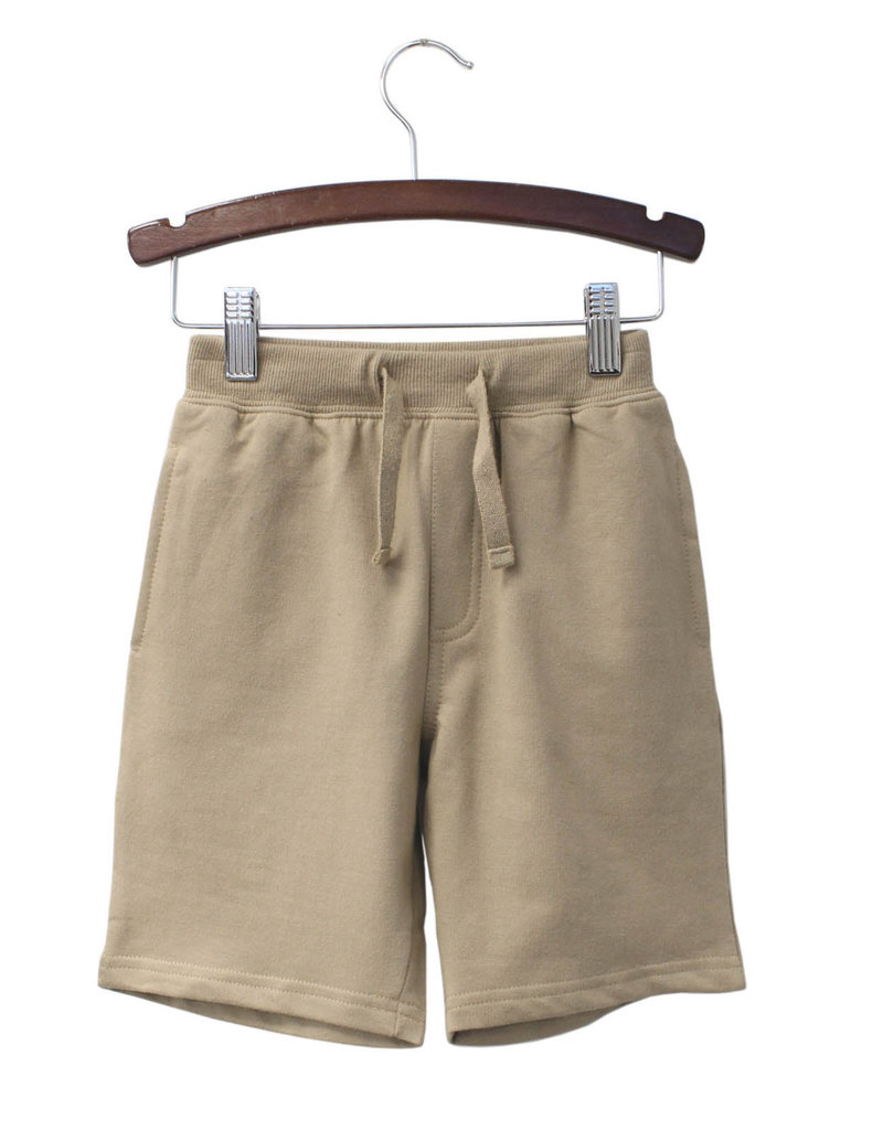 Globaltex Kids Terry Shorts Khaki