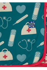 Kickee Pants Swaddling Blanket Oasis Medicine
