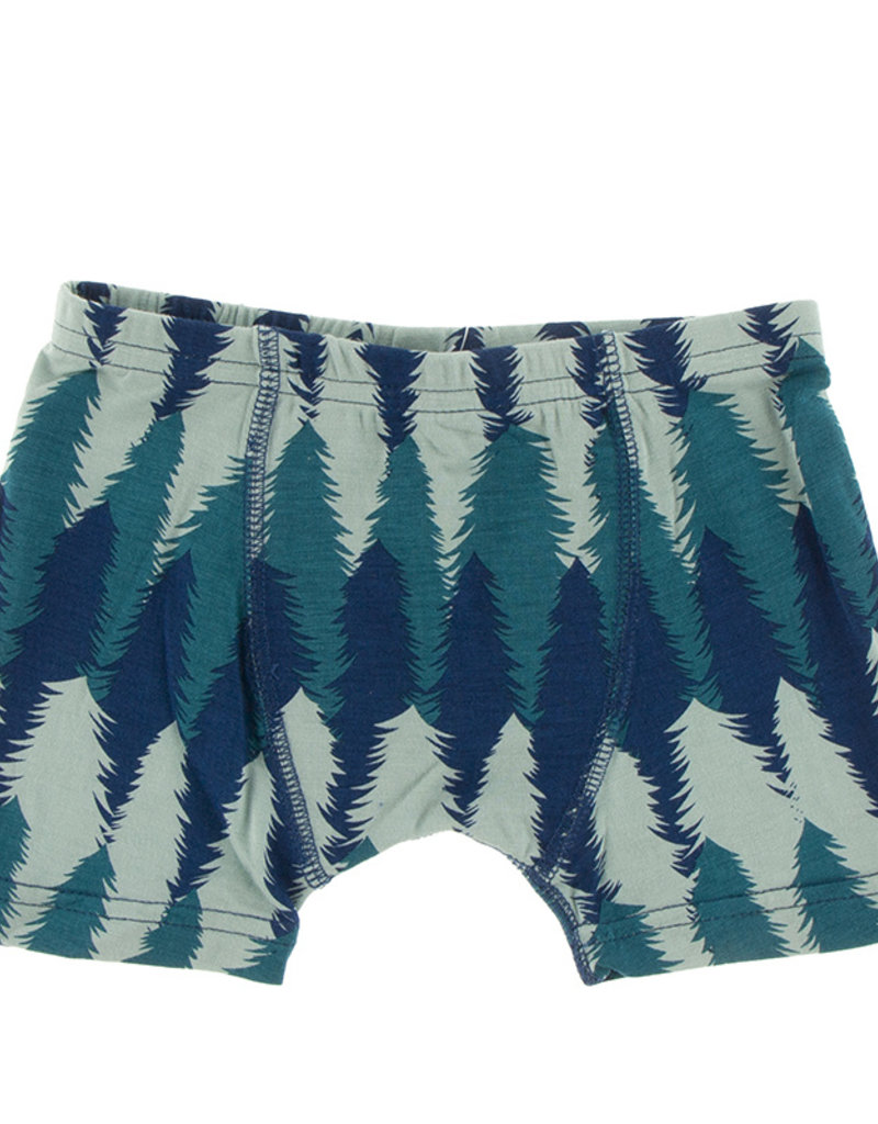 Kickee Pants Boxer Briefs Set Forestry/Military