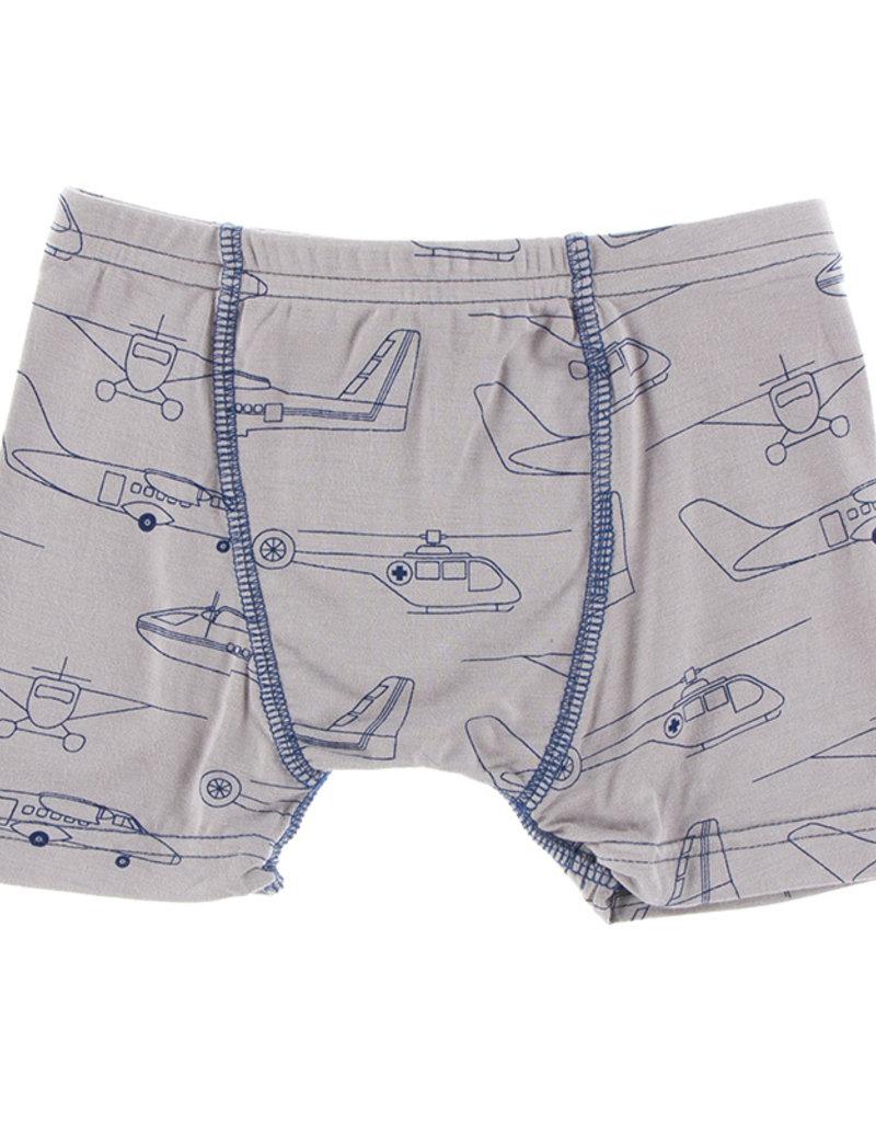 Kickee Pants Boxer Briefs Set Heroes in the Air/Law Enforcement