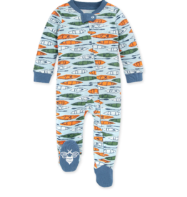 Burt's Bees Without a Paddle Sleep & Play 3/6M, 6/9M