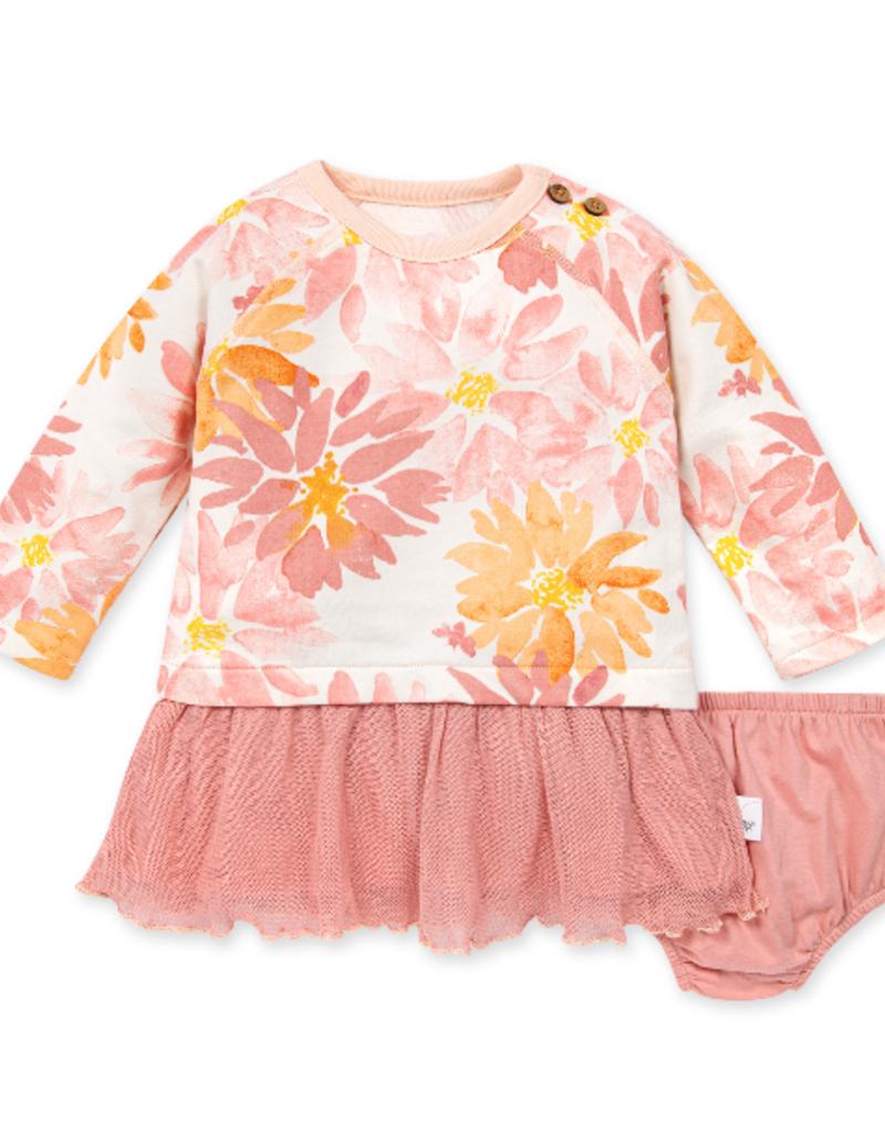 Burt's Bees Autumn Picks Tulle Dress w/Diaper Cover