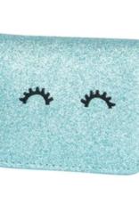 Mila & Rose Aqua Glitter Wallet