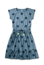 Tea Collection Tie Waist Midi Dress La Laguna