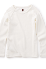Tea Collection Ribbed Purity Tee Milk