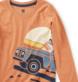Tea Collection Roadtrip Graphic Tee 2T-4T