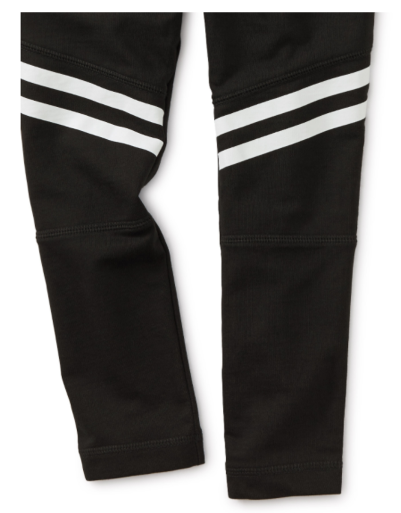 Tea Collection Speedy Stripe Pants Jet Black