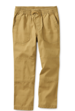 Tea Collection Canvas Explorer Pants Fennel