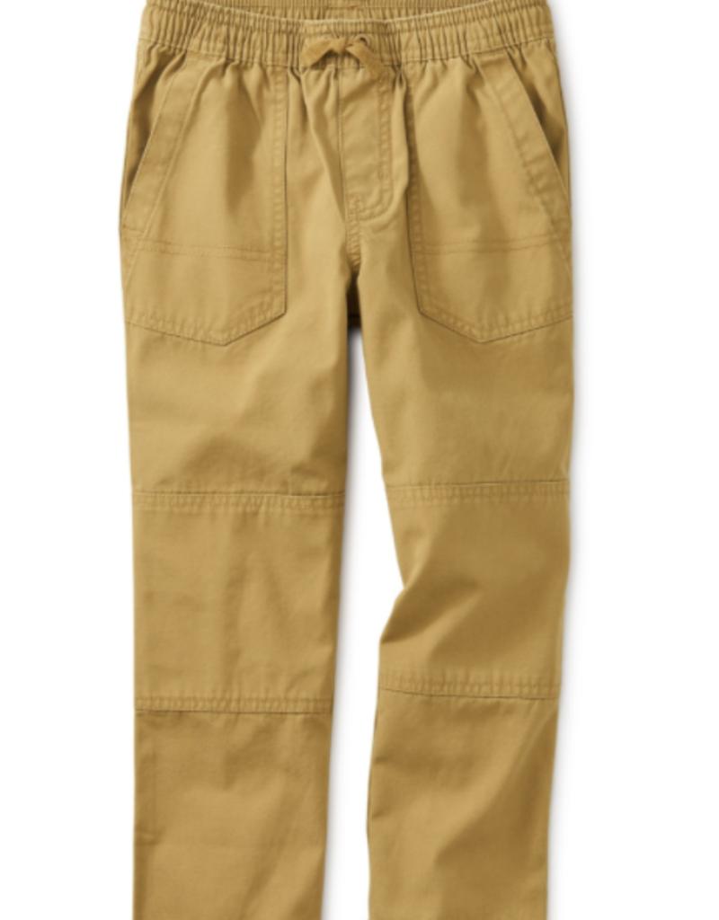 Tea Collection Canvas Explorer Pants Fennel