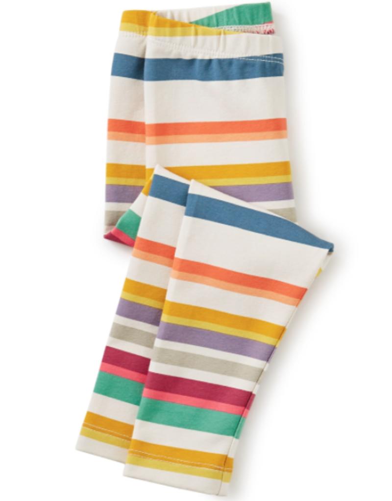 Tea Collection Multi Stripe Baby Leggings Twilight