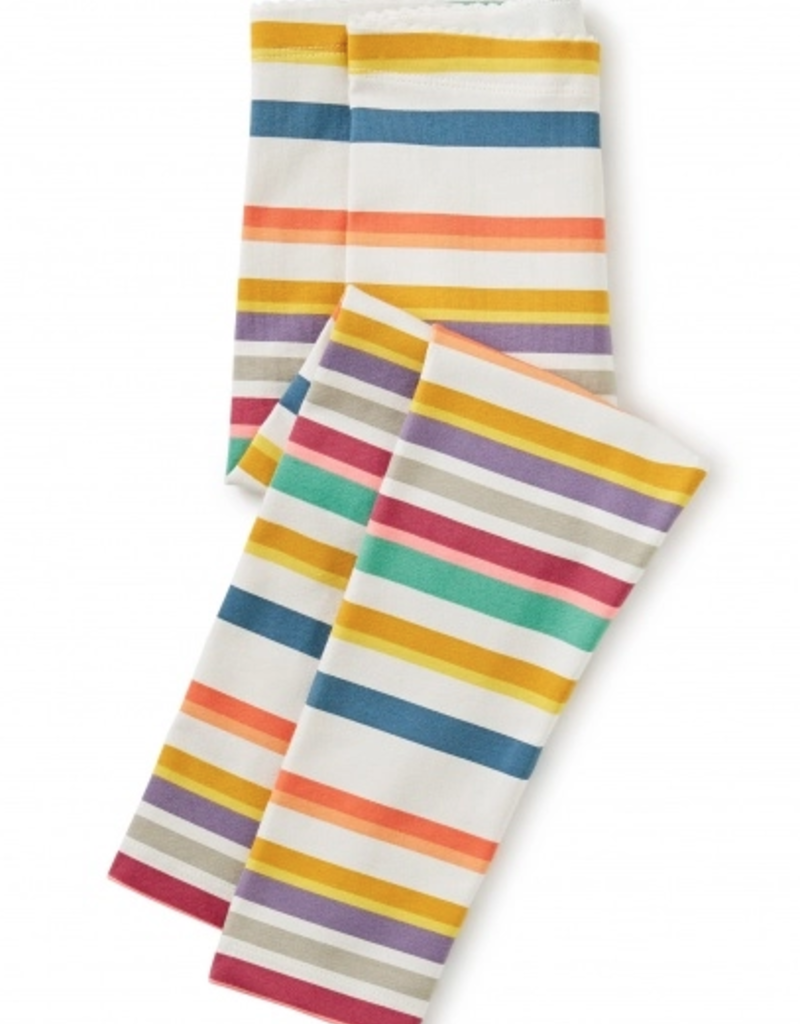 Tea Collection Multi Stripe Leggings Twilight