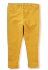 Tea Collection Solid Baby Leggings Golden Yellow 3/6M-18/24M
