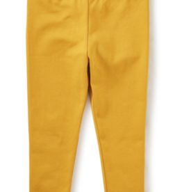 Tea Collection Solid Baby Leggings Golden Yellow 3/6M-9/12M