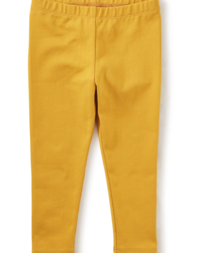 Tea Collection Solid Baby Leggings Golden Yellow
