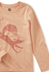 Tea Collection Fox Trot Graphic Tee