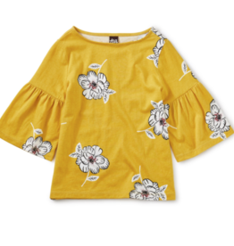 Tea Collection Bell Sleeve Top 2T-4T