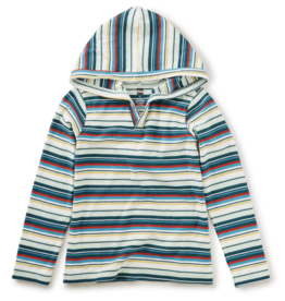 Tea Collection Striped Happy Hoodie 8, 10