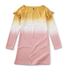 Tea Collection Dip Dye Ruffle Dress 2T-4T