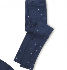 Tea Collection Dot Leggings Blue Whale 8-12
