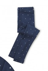 Tea Collection Dot Leggings Blue Whale