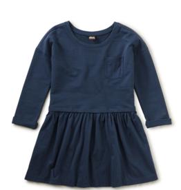 Tea Collection Pocket Play Dress Whale Blue 8