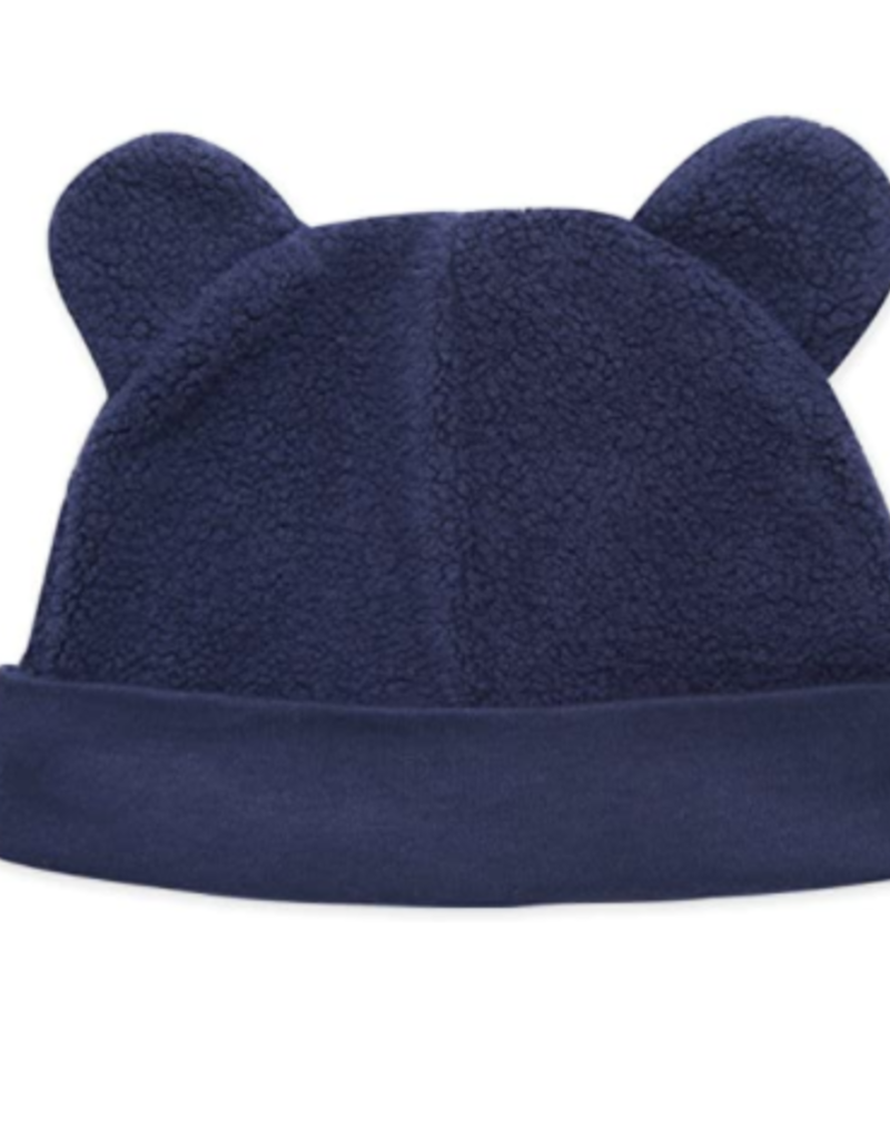 Zutano Fleece Hat Navy 3M-24M