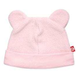 Zutano Fleece Hat Pink 12M