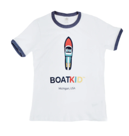 Boatman Boatkid Ringer Tee M-XL