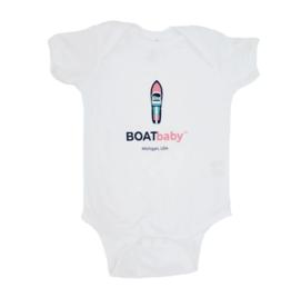Boatman Boatbaby Onesie Pink 12M
